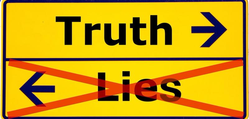 Truth-lies-sign