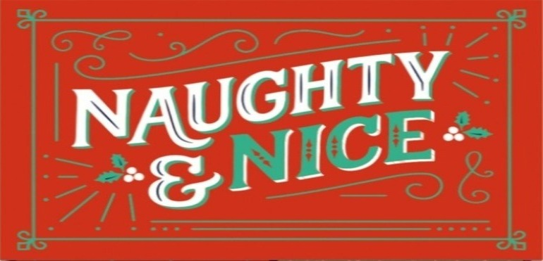 Naughty Nice red green
