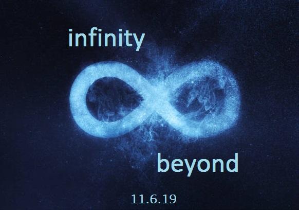Infinity symbol text