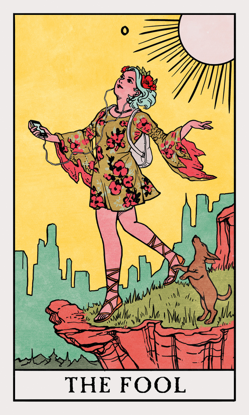 Fool-Modern-Witch-Tarot