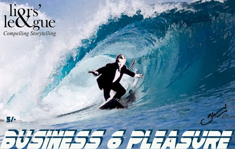 Business & Pleasure (September 2013) Poster