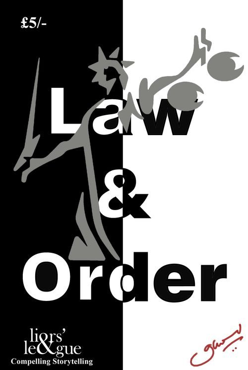 Law & Order (August 2012) Poster