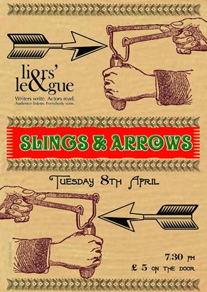 Slings & Arrows (April 2014) Poster
